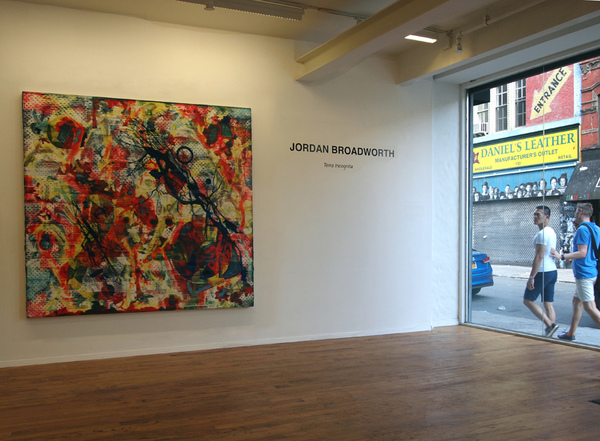 Jordan Broadworth Terra incognita New York, New York