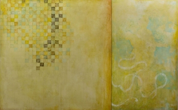 Joseph Haske GOLDEN RECTANGLES ACRYLIC/CANVAS