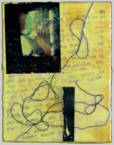 JOY J. ROTBLATT Archived Encaustic Paintings Mixed Media with Encaustic on Wood