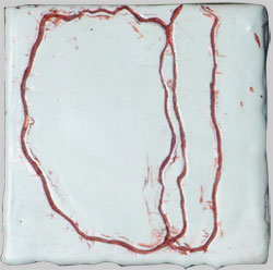 JOY J. ROTBLATT Opposites Encaustic with Oil Paint on Wood Block