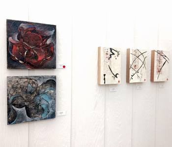 JOY J. ROTBLATT 2014 Exhibitions M/M with encaustic