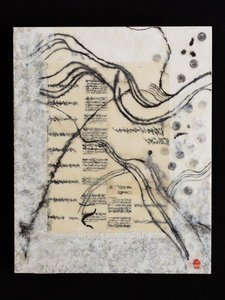 JOY J. ROTBLATT Current Encaustics  M/M with encaustic on Cradled Board