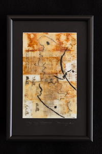 JOY J. ROTBLATT Current Encaustics  M/M with Encaustic on Sketch Book Paper