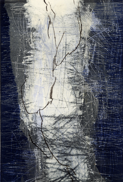 Joyce Silverstone Between relief  / monotype