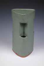 Judith Pointer Jia Cong Vases glazed stoneware, ^6 oxidation