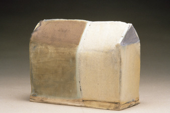 Judith Pointer Jia Houses glazed stoneware, ^9 oxidation