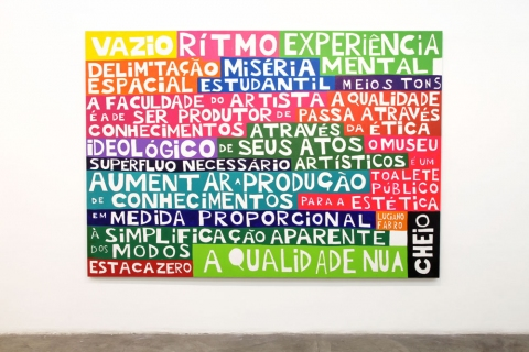 A Coney Island of the Mind series - text of Luciano Fabro