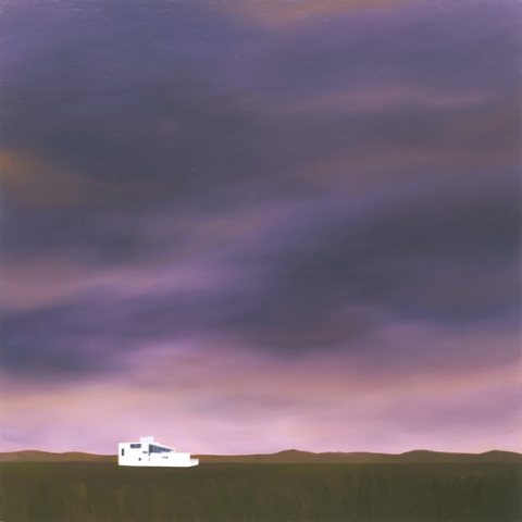 House Paintings + Drawings (1998 - 2002) Oil on panel