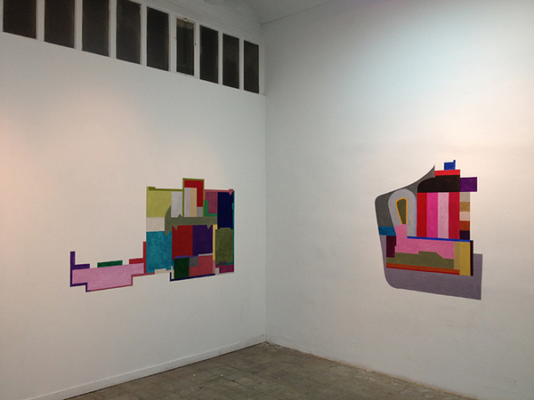Floor Plans (2011 - Present) Acrylic on Wall (in situ)