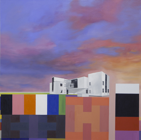 Utopian Structures (2007 - Present) Oil on canvas