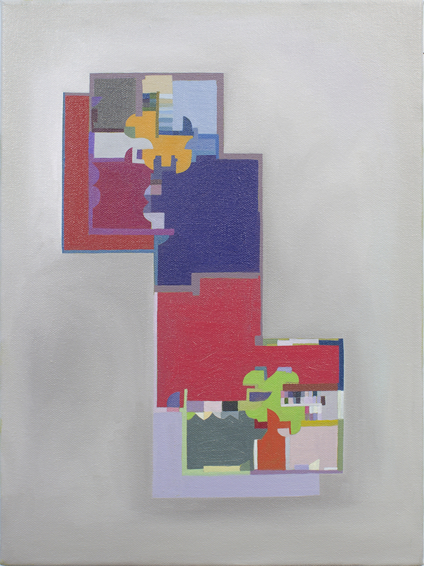 Floor Plans (2011 - Present) Oil and acrylic on canvas