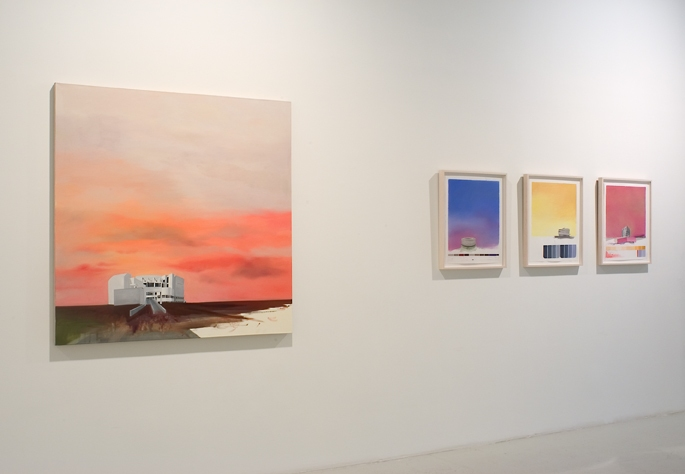 "Museum Paintings + Drawings (2005) Installation View: ""From Here to Modernity"" @ Michael Steinberg Fine Art, NYC"