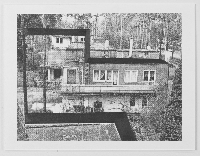 Drawings Gropius: Masters' House, Dessau #3