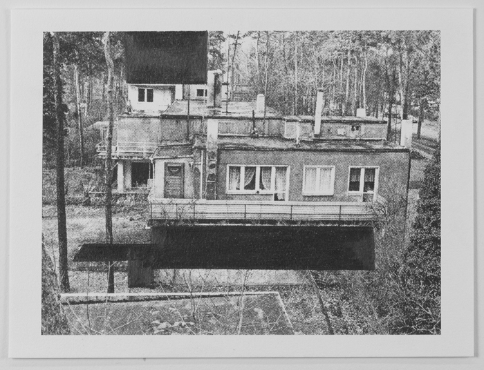 Drawings Gropius: Masters' House, Dessau #1