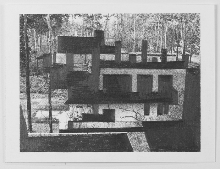 Drawings Gropius: Masters' House, Dessau #5