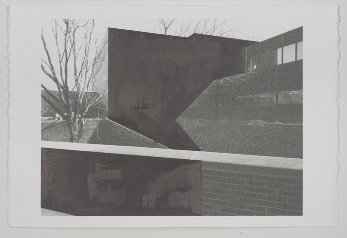 Drawings Barnes Series: Neuberger/ Visual Arts View #1