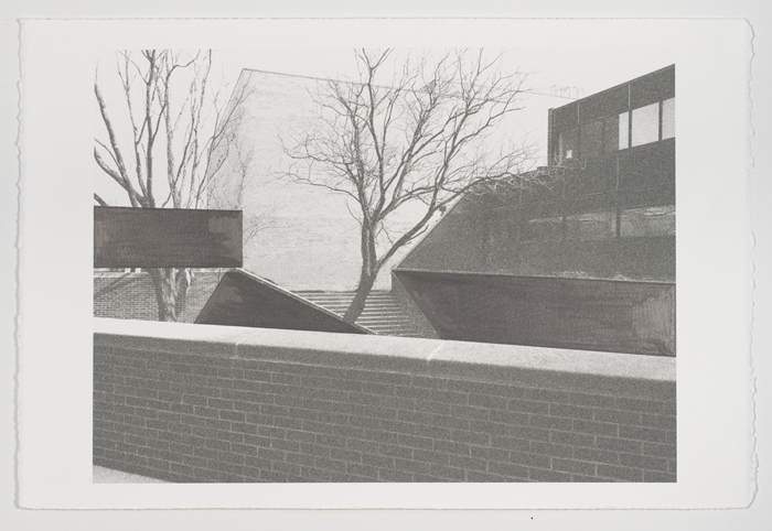 Drawings Barnes Series: Neuberger/ Visual Arts View #3