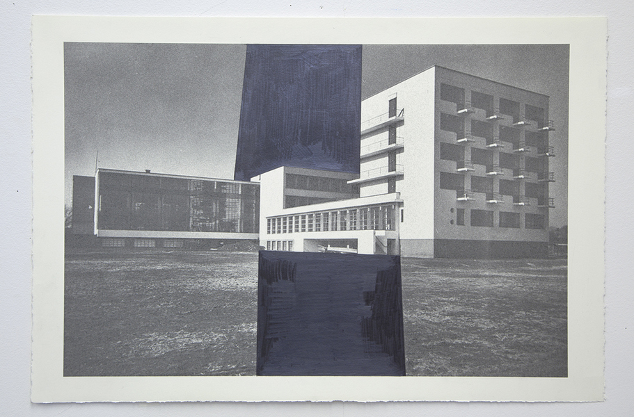 Drawings Gropius Series: Bauhaus, View #6