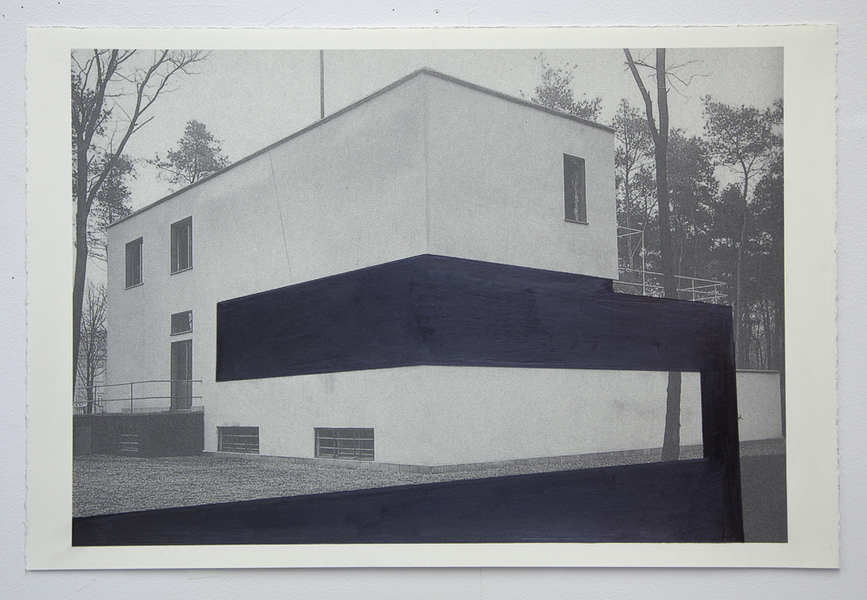Drawings Gropius Series: Director's House, View #1