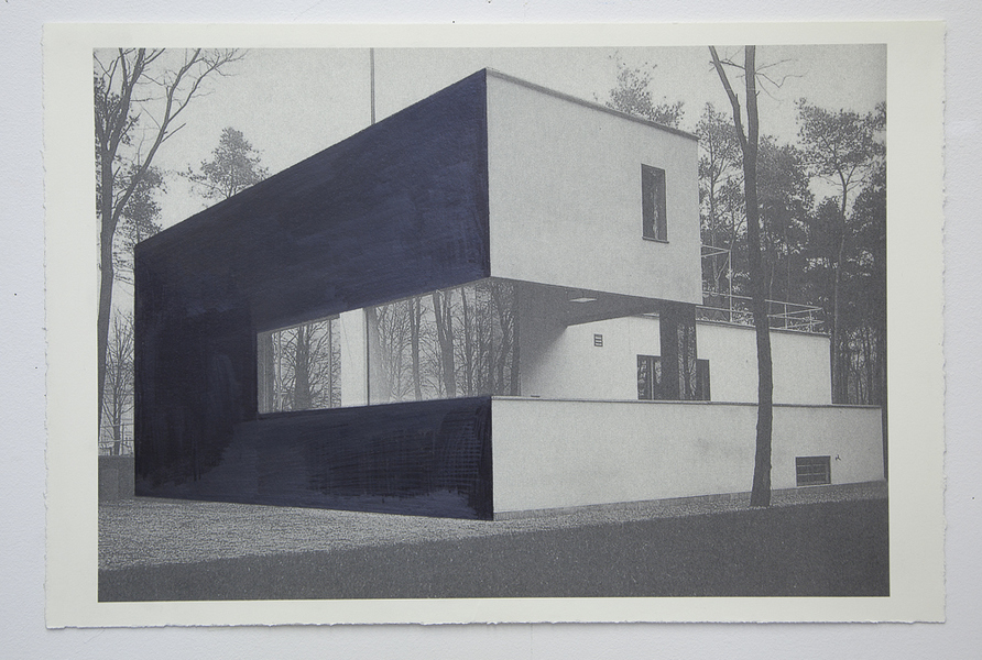 Drawings Gropius Series: Director's House, View #3