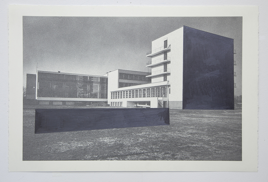 Drawings Gropius Series: Bauhaus, View #5