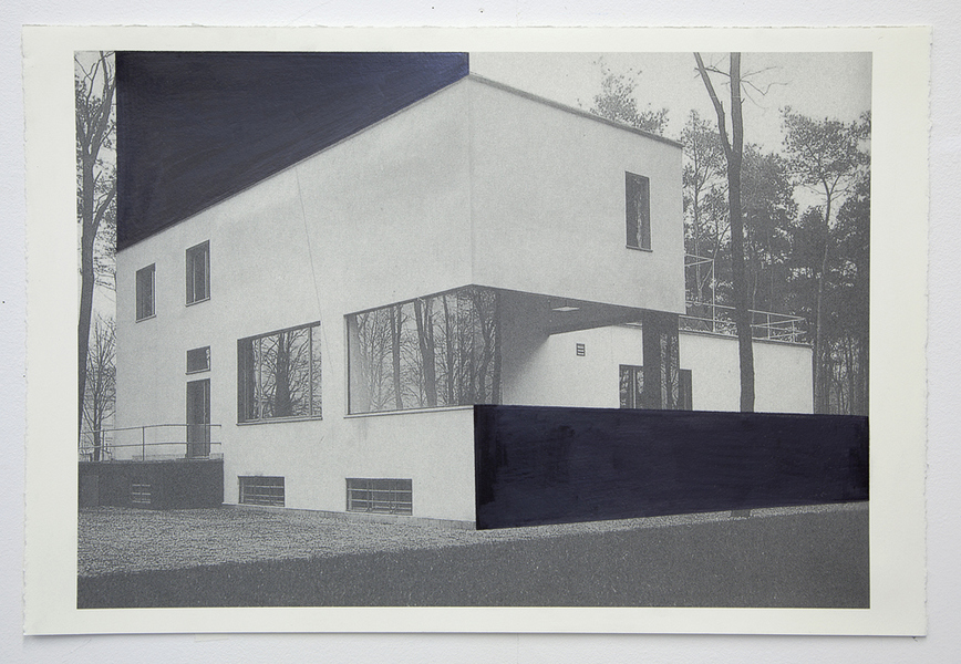 Drawings Gropius Series: Director's House, View #6