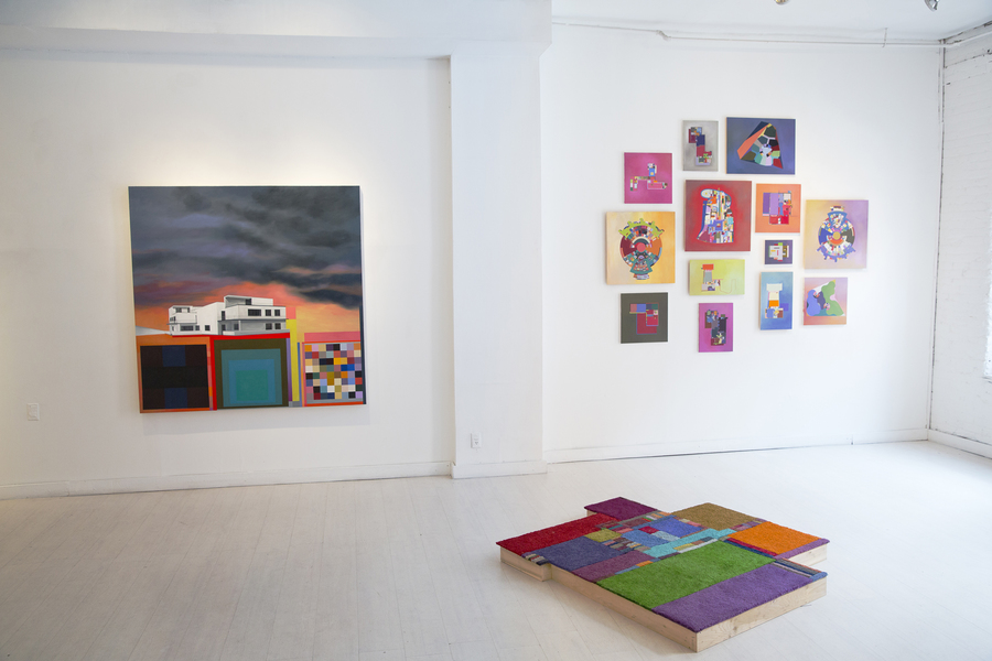 "Floor Plans (2011 - Present) Installation View: ""Tomorrow-land""@ 532 Gallery Thomas Jaeckel, NYC"
