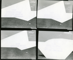 Julie Weber Undisclosed Typologies found gelatin silver contact print, partially peeled