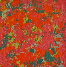 Julie Wolf Waltz Paintings 2 acrylic on canvas