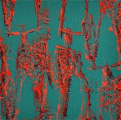 Julie Wolf Waltz Paintings 1 acrylic on canvas