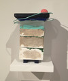 CONSTRUCTIONS Plaster, resin, acrylic, wood, clay, wire