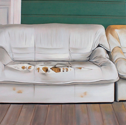 Julie Weaver Painting Oil on Canvas
