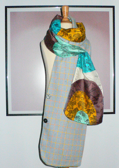 past collections-scarves  animal convention