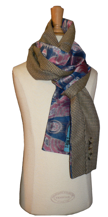 past collections-scarves  beaux brummel