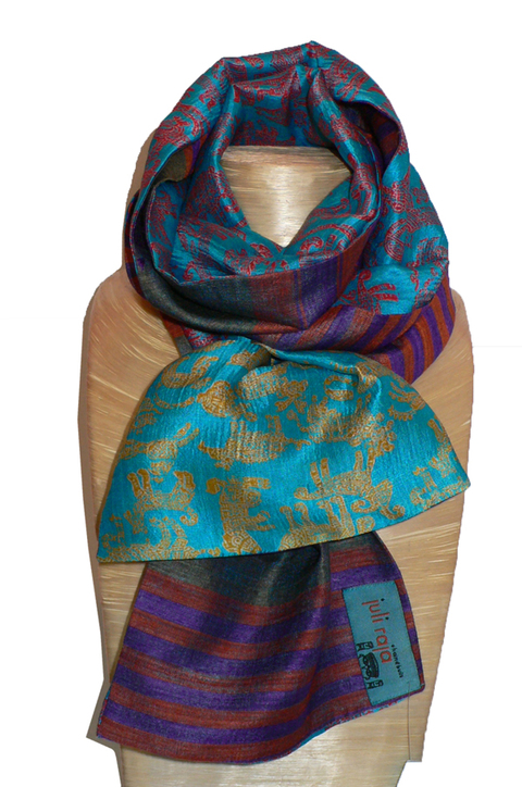 past collections-scarves  zooilogical