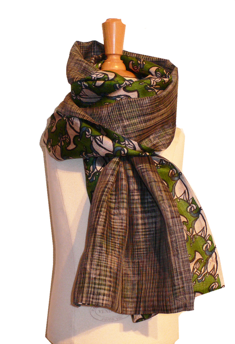past collections-scarves  mega macki