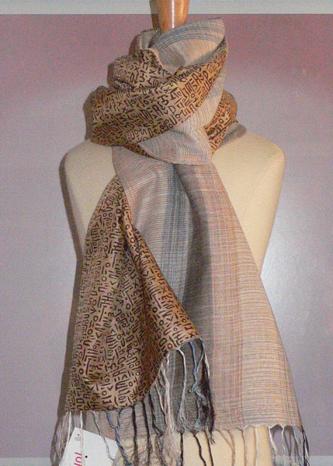 past collections-scarves  sand & silence