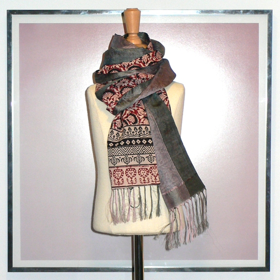 past collections-scarves  concrete jungle