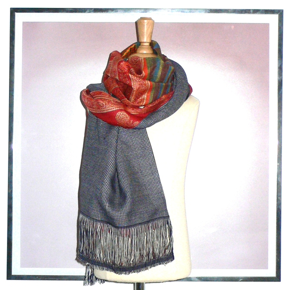 past collections-scarves  carnal feast