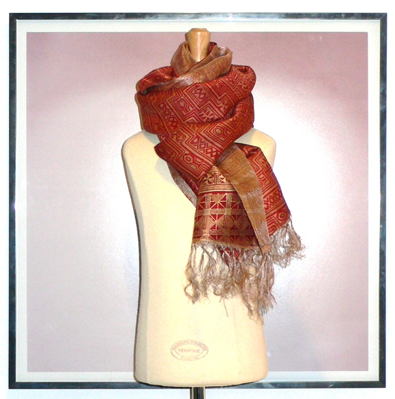 past collections-scarves  roasted chestnut
