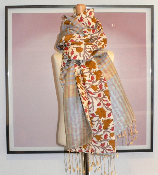 past collections-scarves  into the wilderness