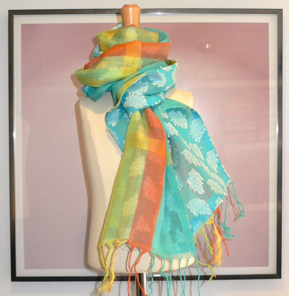 past collections-scarves  Into thin air