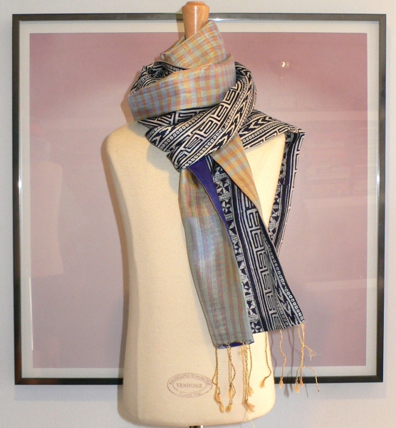 past collections-scarves  blue belle