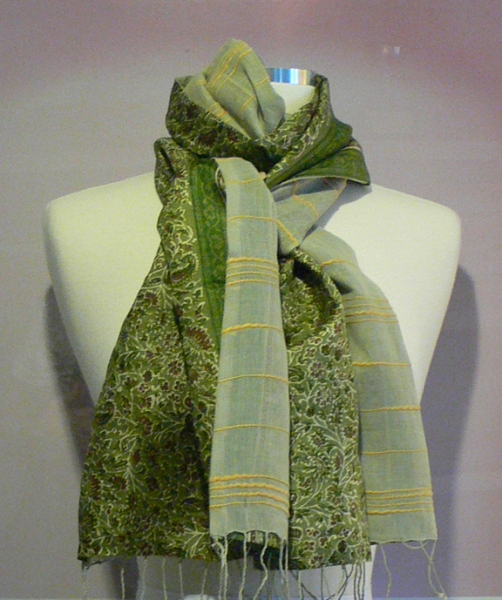 past collections-scarves  green with envy