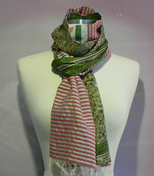 past collections-scarves  home again close to you