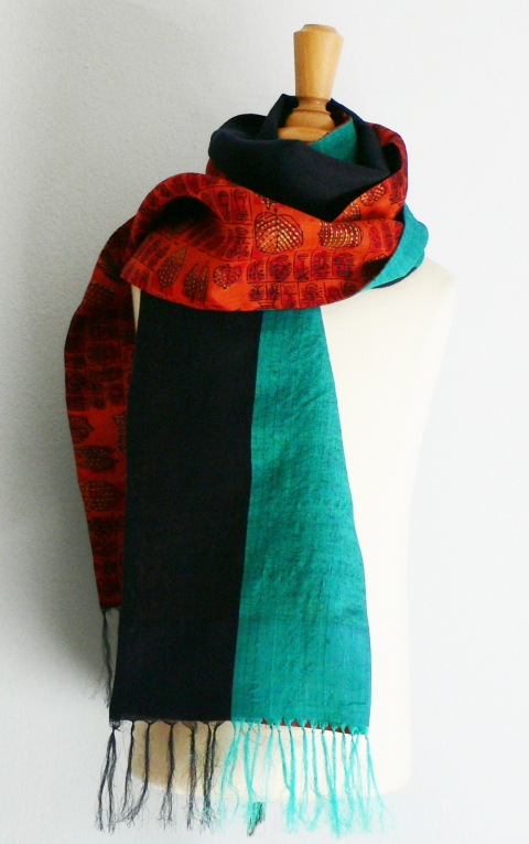 past collections-scarves  dream weaver