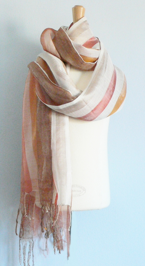 past collections-scarves  lazy days of summer