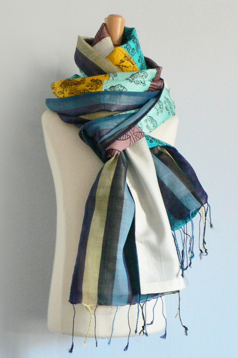 past collections-scarves  new zoo review