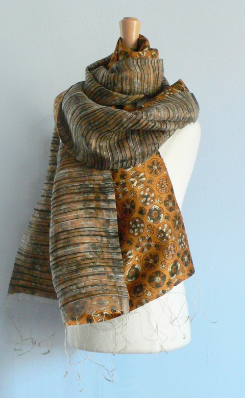 past collections-scarves  pieces of gold