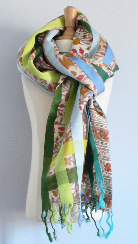 past collections-scarves  ribbons & flowers